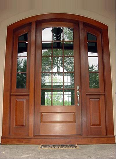 входные современные двери для коттеджа москва